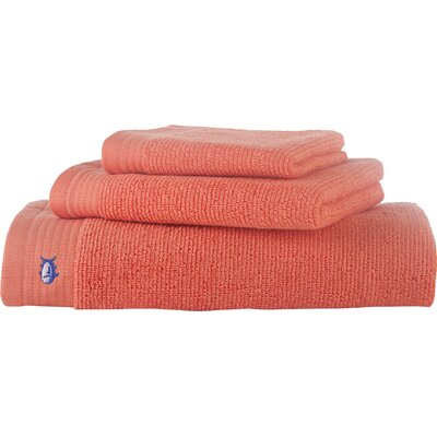 Performance Hand Towel Color: Coral