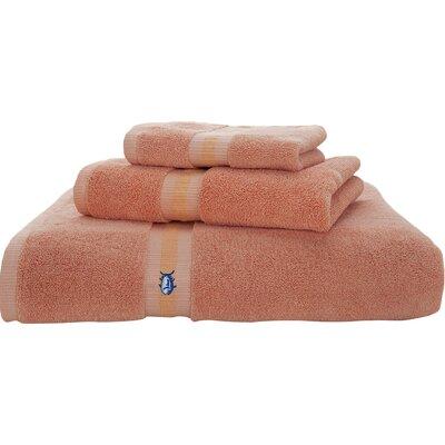 Skipjack Hand Towel Color: Sea Coral