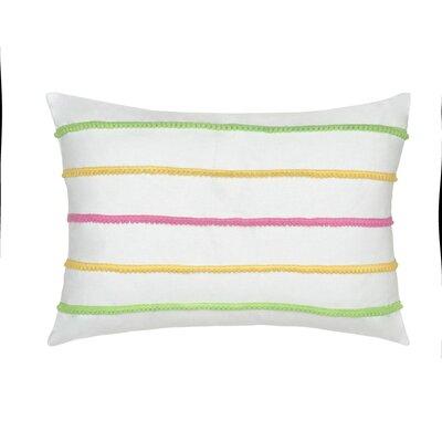 Kiawah Floral Cotton Throw Pillow