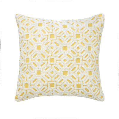 Kiawah Floral Cotton Throw Pillow