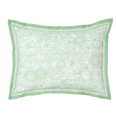 Seapine Standard Sham Color: Lime Green