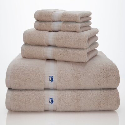 Skipjack Southern Tide 6 Piece Towel Set Color: Sand