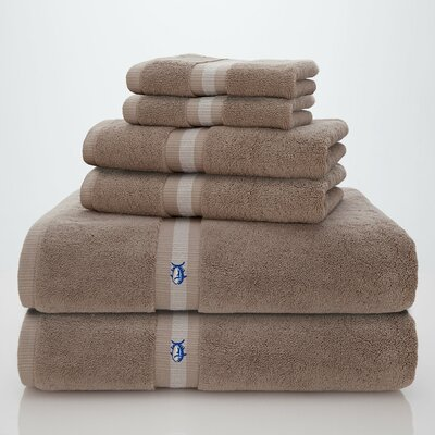 Skipjack Southern Tide 6 Piece Towel Set Color: Khaki