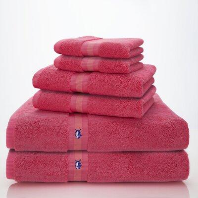 Skipjack Southern Tide 6 Piece Towel Set Color: Sunset Pink