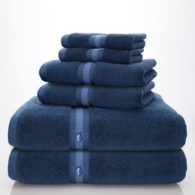 Skipjack Southern Tide 6 Piece Towel Set Color: Nautical Blue