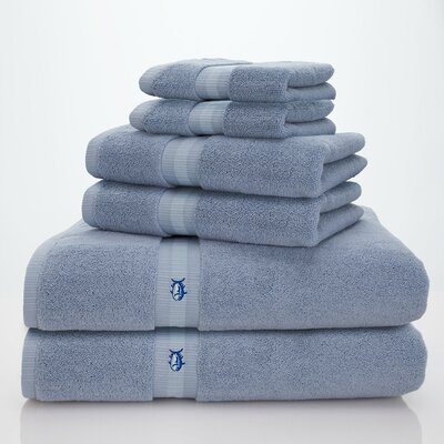 Skipjack Southern Tide 6 Piece Towel Set Color: Ocean Sky