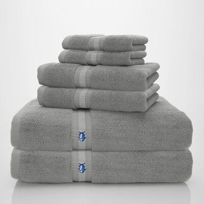 Skipjack Southern Tide 6 Piece Towel Set Color: Southern Drizzle