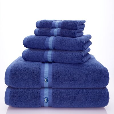 Skipjack Southern Tide 6 Piece Towel Set Color: Palace Blue