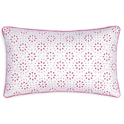 Long Bay Geo Eyelet Lumbar Pillow