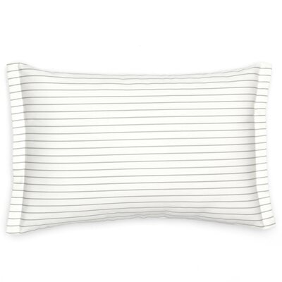 Sullivan Stripe Cotton Lumbar Pillow