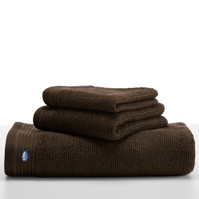 Performance Hand Towel Color: Dark Chocolate