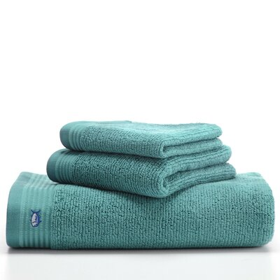 Performance Wash Cloth Color: Aquamarine