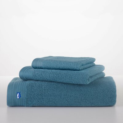 Performance Wash Cloth Color: Storm Blue