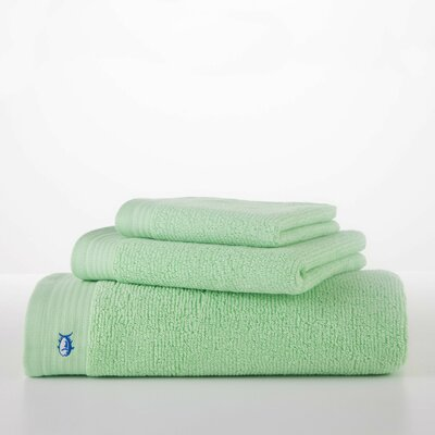 Performance Hand Towel Color: Green Ice