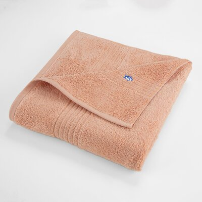 Bath Towel Color: Peach Nectar