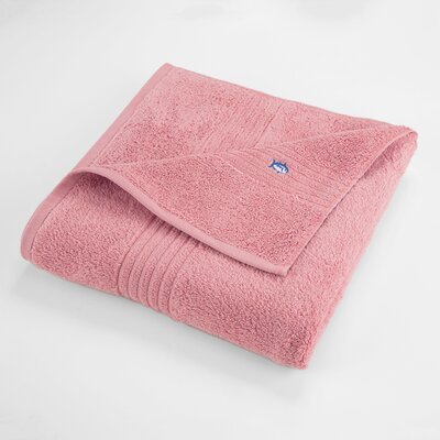 Bath Towel Color: Geranium Pink