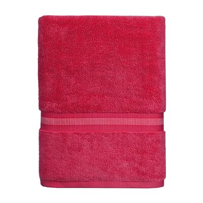 Skipjack Bath Towel Color: Grenadine