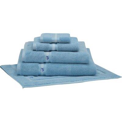 Ultimate Terry Bath Mat Color: Blue Topaz