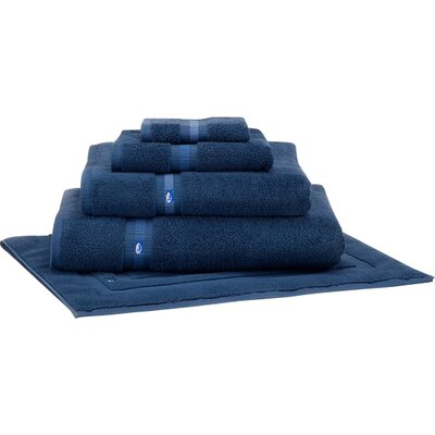 Ultimate Terry Bath Mat Color: Nautical Blue