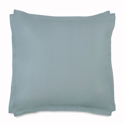 Tropical Retreat Euro Square Sham Color: Turquoise