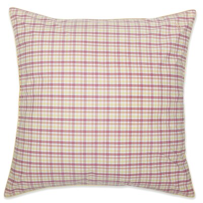 Patio Plaid Yarn Dyed European Square Sham