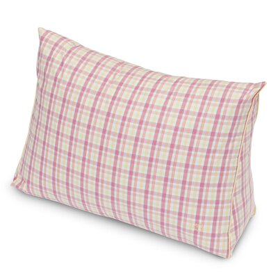 Patio Plaid Yarn Dyed Wedge Throw Pillow