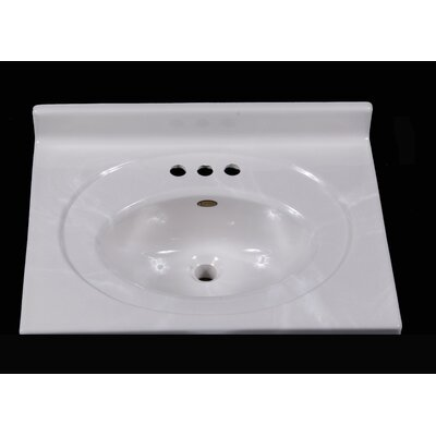 25 Single Bathroom Vanity Top