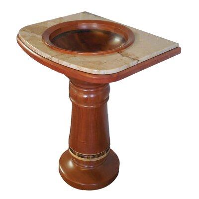 27 Pedestal Bathroom Sink