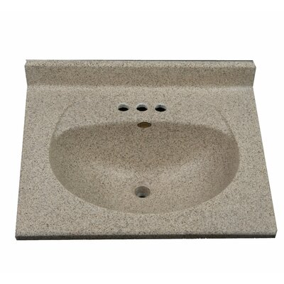 Olympic 25  Single Bathroom Vanity Top
