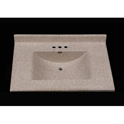 Center Wave 31 Single Bathroom Vanity Top