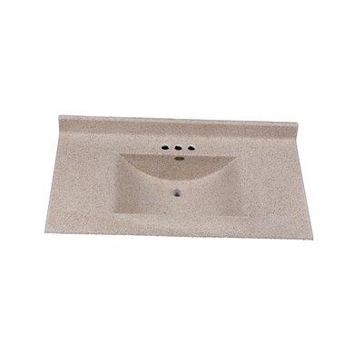 Center Wave 37 Single Bathroom Vanity Top