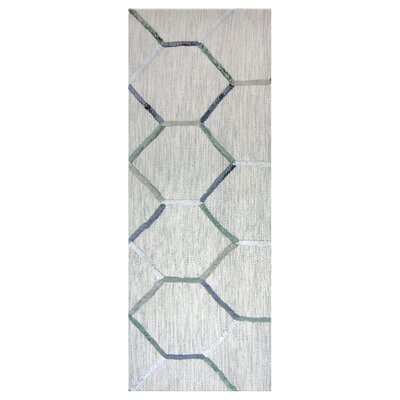 Inca Stone Grey Area Rug Rug Size: Runner 2 x 8