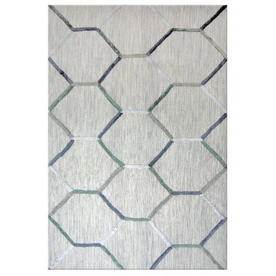 Inca Stone Grey Area Rug Rug Size: 5' x 7'