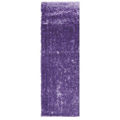 Metro Silk Lilac Area Rug Rug Size: Runner 26 x 8