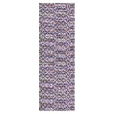 Agrippa Grape Purple Area Rug Rug Size: Runner 26 x 8