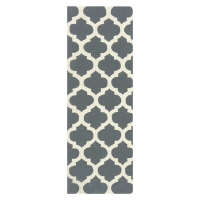 Elite Gray Area Rug Rug Size: 4 x 6