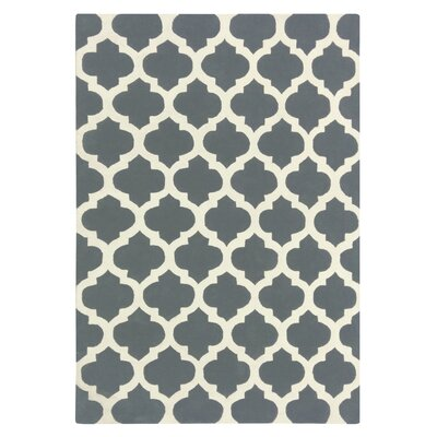 Elite Gray Area Rug Rug Size: 6 x 9