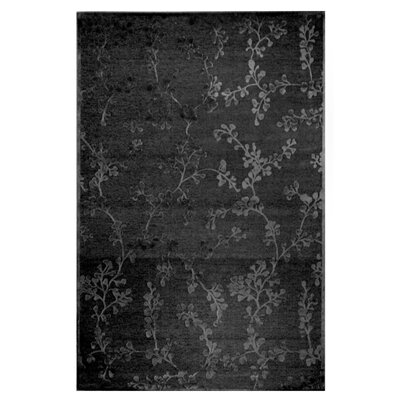 Merengue Grey Chenille Area Rug Rug Size: 5 x 76