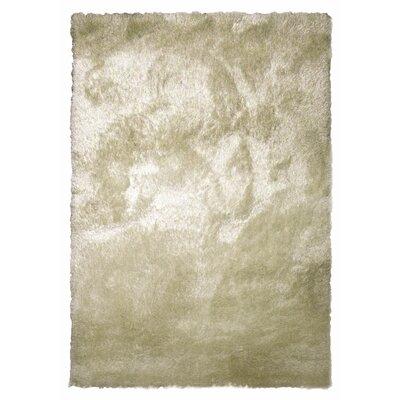 Tinsel Beige Shag Area Rug Rug Size: 6 x 9