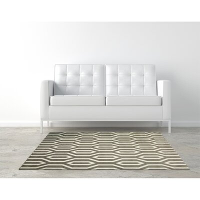 Everlast Taupe Area Rug Rug Size: Rectangle 5 x 76