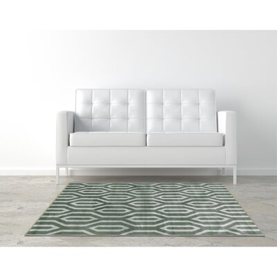 Everlast Gray Area Rug Rug Size: Rectangle 5 x 76