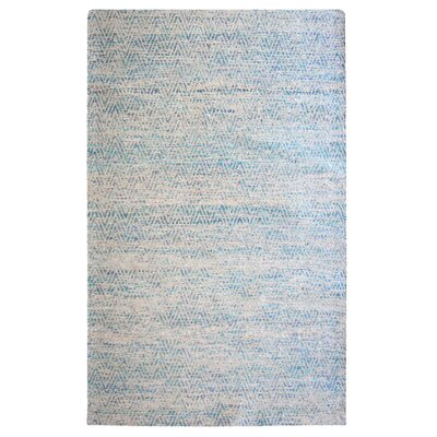 Tribe Blue Area Rug Rug Size: 5 x 7