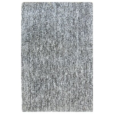 Heather Charcoal Shag Area Rug Rug Size: 8 x 10