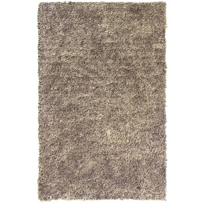 Downy Beige Shag Area Rug Rug Size: 76 x 10