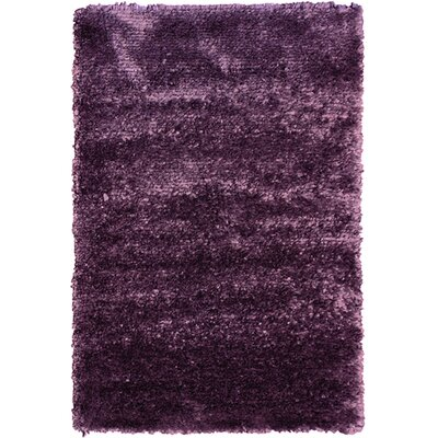 Petal Purple Shag Area Rug Rug Size: 5 x 76