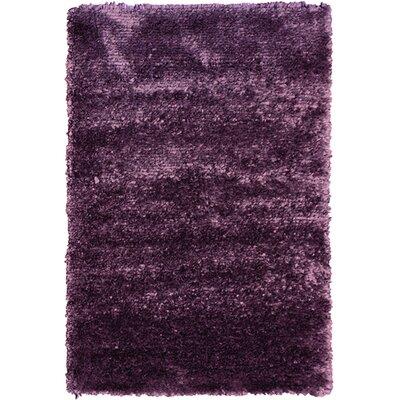 Petal Purple Shag Area Rug Rug Size: 8 x 10