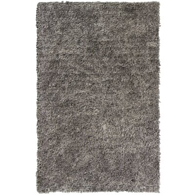 Downy Silver Shag Area Rug Rug Size: 3 x 46