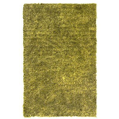 Downy Green Shag Area Rug Rug Size: 5 x 76