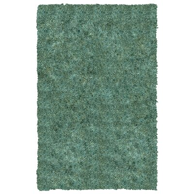 Downy Blue Shag Area Rug Rug Size: 3 x 46