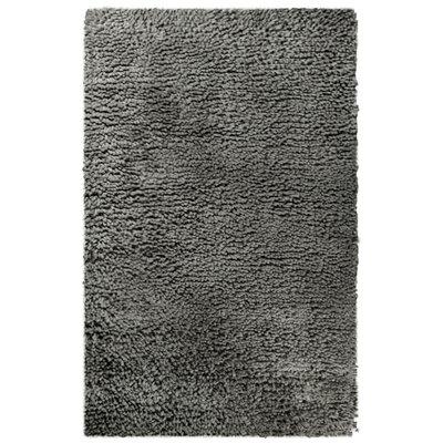 Saturn Wool Grey Area Rug Rug Size: 4 x 6